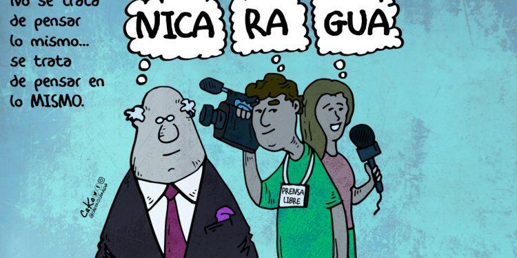 La Caricatura: Por los periodistas y empresarios en su día