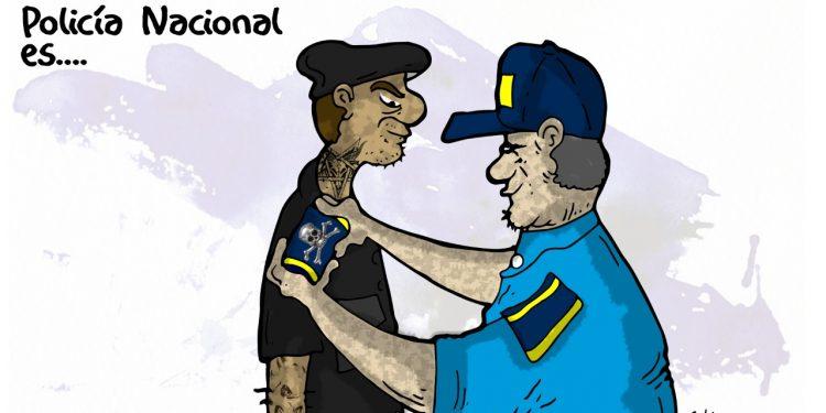 La Caricatura: Policía Nacional es #PolicíaCriminal