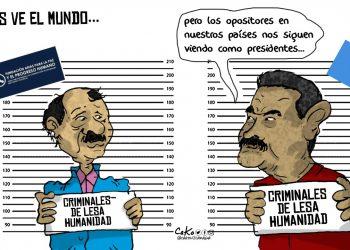 La Caricatura: Así los ve el mundo...