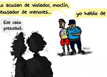 La Caricatura: A propósito de violadores