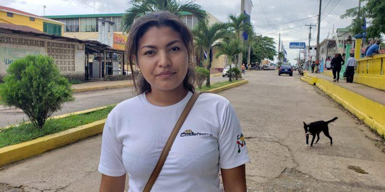 Jueza orteguista de Bluefields declara culpable a la periodista Kalúa Salazar por «calumnia». Foto: Cortesía Noticias de Bluefilds.