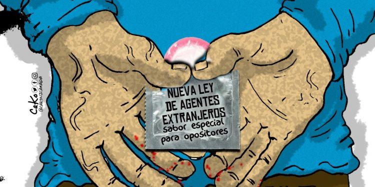La Caricatura: Nueva Ley de Agentes Extranjeros