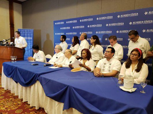 Alianza Cívica condena campaña de «intimidación fiscal» contra Chamorro. Foto: Artículo 66
