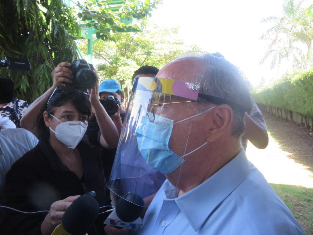 Canal 12 presenta escrito contra embargo del régimen de Ortega. Foto: Artículo 66.
