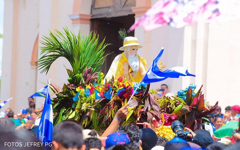 Iglesia católica hace oficial la cancelación de las fiestas de San Jerónimo pero dictadura monta su propia celebración. Foto: El 19 Digital