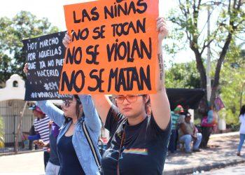Organizaciones feministas demandan que se esclarezcan los femicidios en Nicaragua. Foto: A. Navarro/Artículo 66