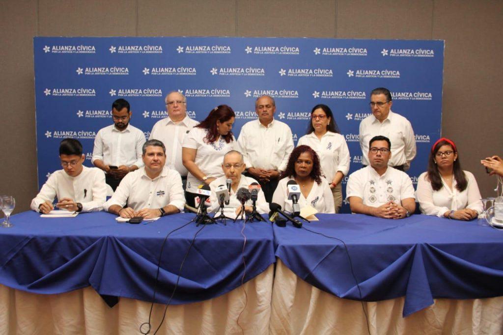 Alianza Cívica incorpora a su filas a la abogada María Asunción Moreno. Foto: Tomada de internet