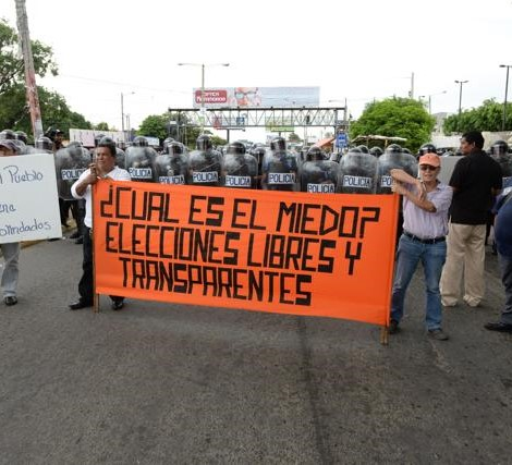 Organización internacional «Alianza Progresista» demanda elecciones transparentes en Nicaragua. Foto: La Prensa.