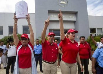 Consejo Electoral de Ortega ratifica a María Haydee Osuna como presidenta del PLC. Foto: EFE