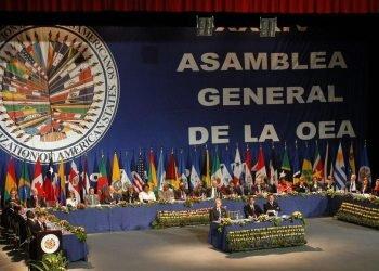 Proyecto de resolución de la OEA: «Peca por no llamar las cosas por su nombre». Foto: Tomada de internet.