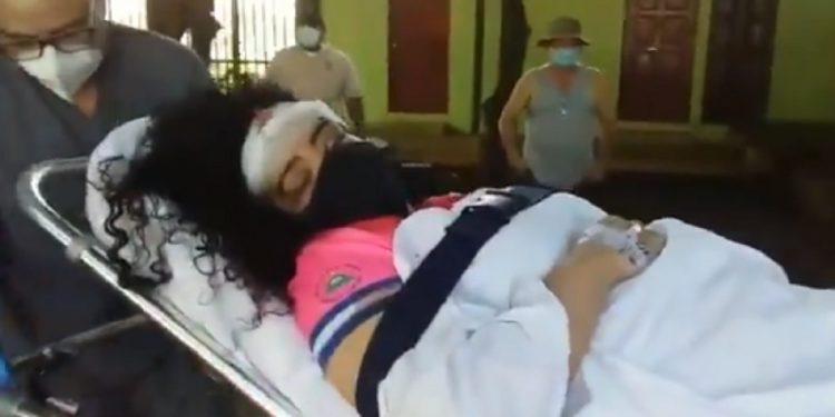 Periodista Verónica Chávez sale del hospital después de nueve días internada por ataque sandinista
