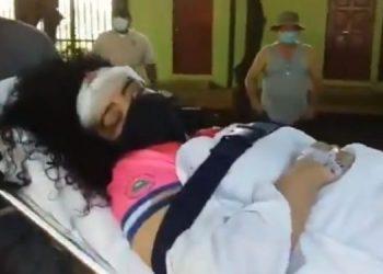 Periodista Verónica Chávez sigue en condición delicada luego de ataque orteguista