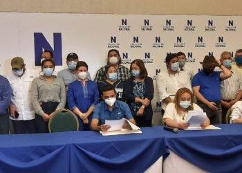 Coalición Nacional presenta sus avances a cuatro meses de su nacimiento. Foto: A. Navarro/Artículo 66.