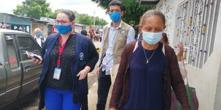 CPDH le toma la palabra a Ortega y busca entrar a la cárcel a ver a presos políticos. Foto: Noel Miranda / Artículo 66