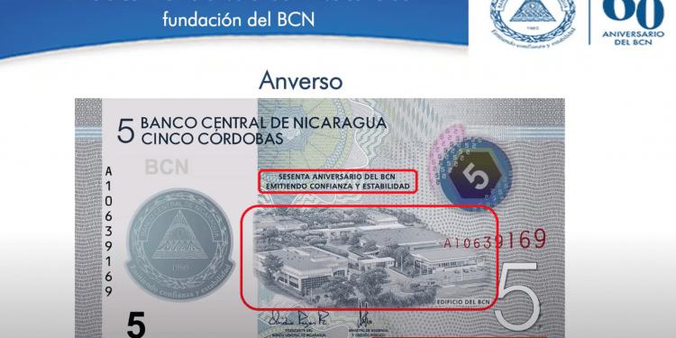 Ridícula publicidad del Banco Central con nuevo billete de cinco