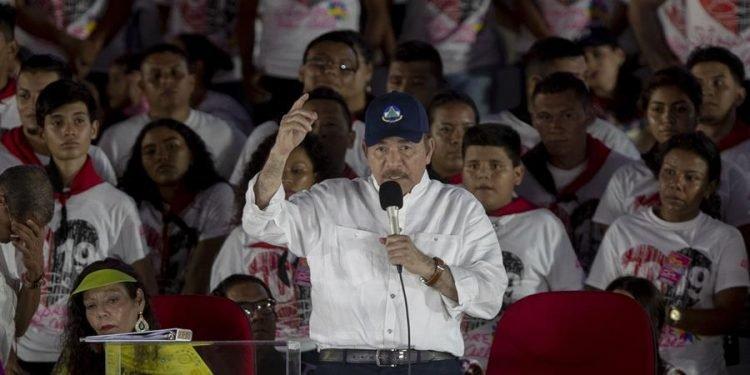 Daniel Ortega trastoca la realidad a su conveniencia. Foto: Artículo 66 / EFE