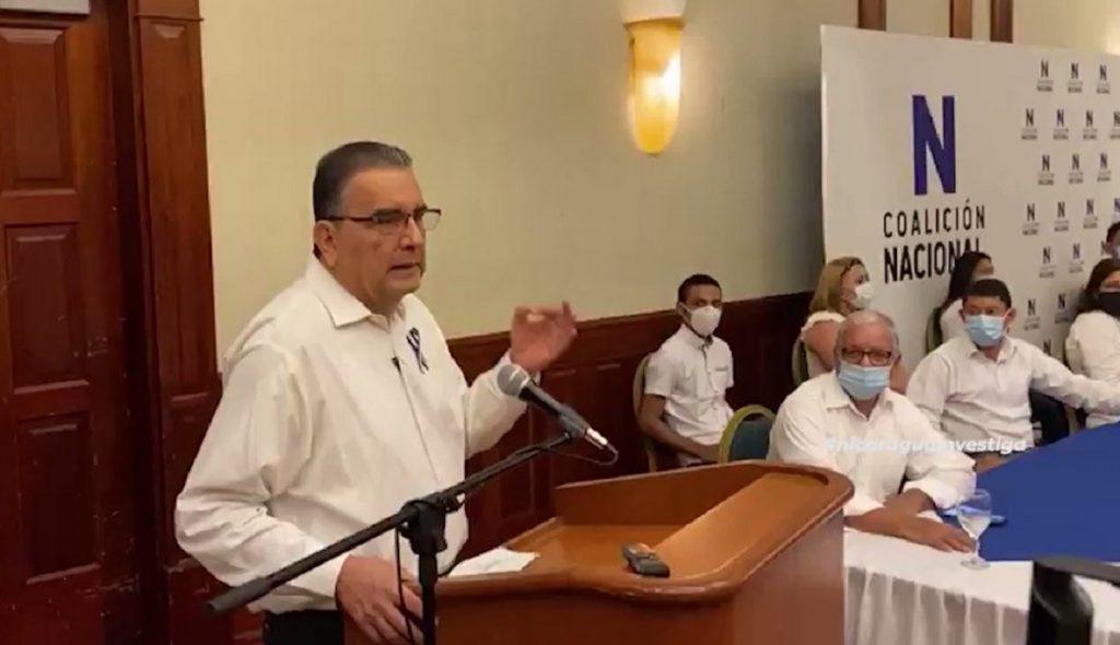 Ernesto Medina deja Alianza Cívica y se va a la Coalición Nacional junto con otros «colaboradores». Foto: Nicaragua Investiga.