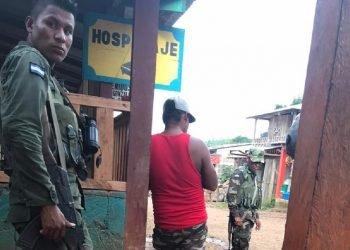 Gobierno Territorial Rama y Kriol denuncia que el Ejército los trata de forma «hostil y discriminatoria». Foto: Cortesía GTR-K