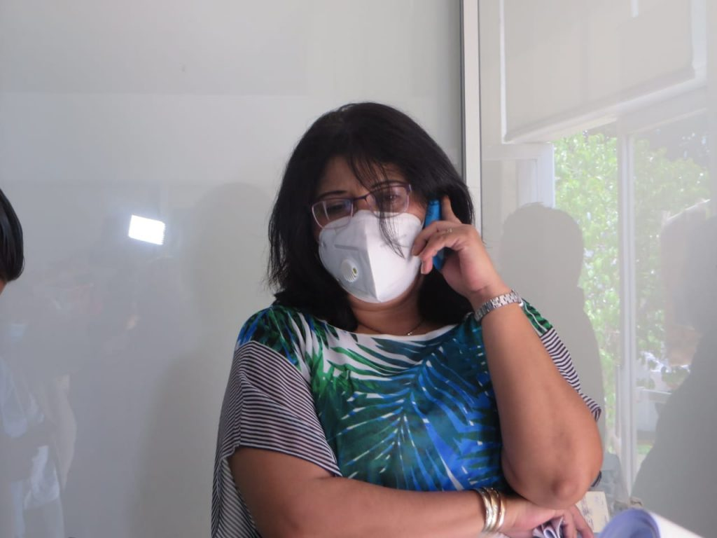 Suhail Margarita Espinoza Martínez, Juez Segundo de Distrito de Trabajo de Managua. Foto: Artículo 66/ Noel Miranda.
