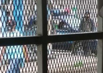 Policía asedió por 10 horas a la familia de «La Loba Feroz». Foto: Cortesía.