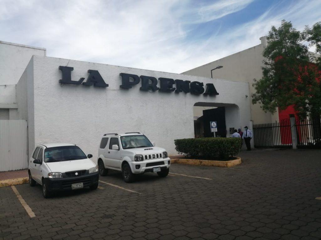 Instalaciones del diario La Prensa, Managua. Foto: Artículo 66/ Noel Miranda.
