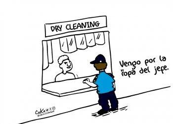 La Caricatura: Lavadera de «ropa»