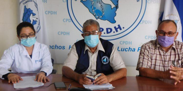 Dictadura niega reintegrar a médicos que despidió en el contexto de la pandemia del COVID-19. Foto: CPDH