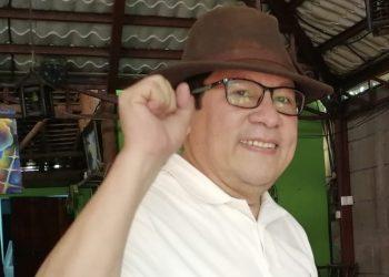 Miguel Mora se postula a precandidato presidencial por el PRD. Foto: Noel Miranda / Artículo 66