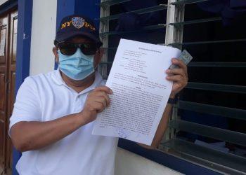 Miguel Mora acusa a Daniel Ortega y a altos mandos de la Policía por agresión a la periodista Verónica Chávez .Foto: Cenidh