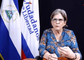 Kitty Monterrey cree que impugnación contra CxL solo es «maniobra publicitario» y «no tiene valor legal». Foto: Nicaragua Actual.