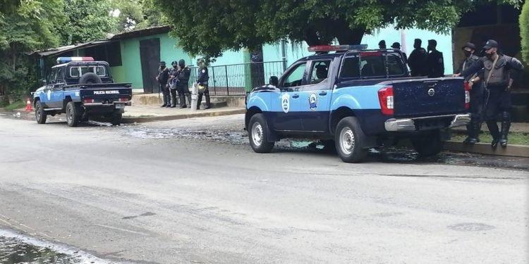 Policía propina una golpiza a tres ciudadanos de Masaya que gritaron «¡viva Nicaragua libre!» . Foto: ilustrativa / Artículo 66