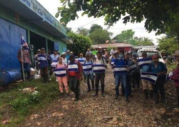 Campesinos anti Medardo Mairena realizan asamblea en Nueva Guinea. Foto: Artículo 66  Cortesía.