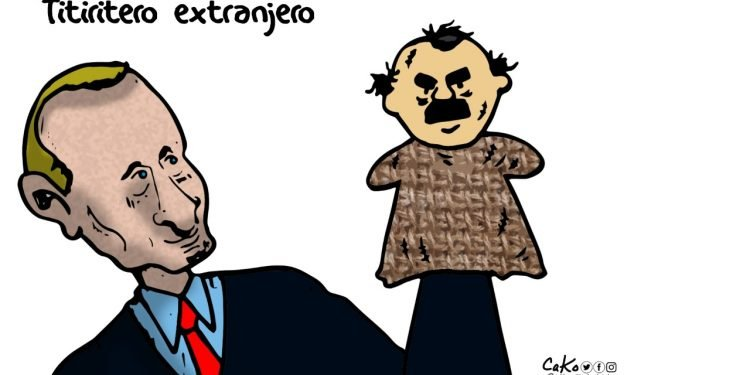 La Caricatura: Titiritero extranjero