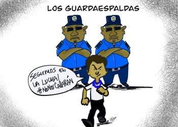 La Caricatura: Los guardaespaldas