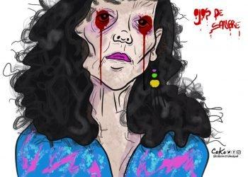 La Caricatura: Ojos inyectados de sangre
