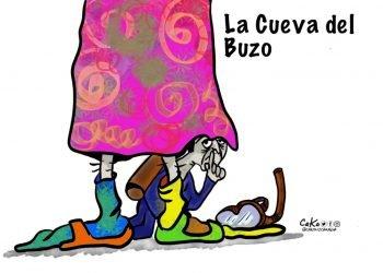 La Caricatura: La cueva del buzo