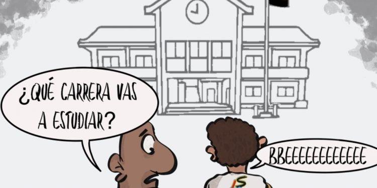 """La Caricatura: Los futuros """"profesionales"""""""