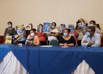 Familiares de presos políticos exigen a la OEA que frene la «tregua» a Ortega y lo declare «ilegítimo». Foto: Artículo 66