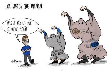 La Caricatura: Los sustos que vienen