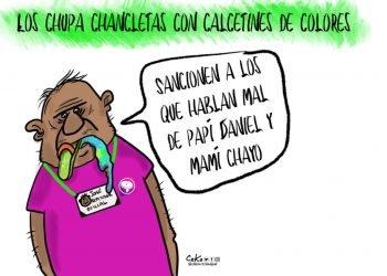 La Caricatura: Los paraperiodistas defendiendo a los dictadores