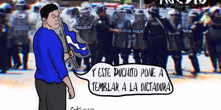 La Caricatura: Los «puchitos» que ponen a temblar a la dictadura