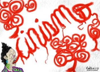 La Caricatura: Lengua cínica
