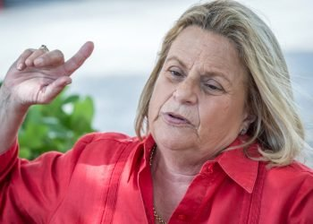 Excongresista Ileana Ros-Lehtinen pide a Washington que aplique la Nica Act contra Ortega. Foto: Artículo 66/ EFE.