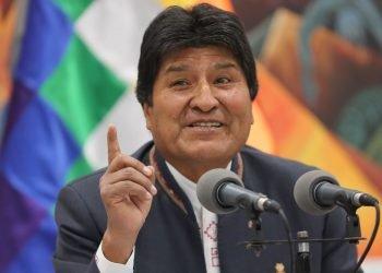 Juez anula orden de aprehensión contra Evo Morales. Foto: Artículo 66/ EFE.