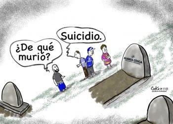 La Caricatura: Suicidio político