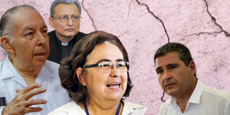 El doctor Tünnermann, Azahálea Solís y el padre Idiáquez se van oficialmente de la Alianza Cívica