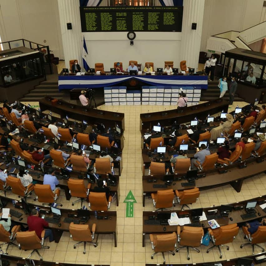 Diputados sandinistas aprueban Ley de Ciberdelito, conocida como Ley Mordaza