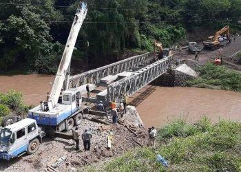 Sector privado reprueba al FOMAV, luego del «desastre» del puente Cuisalá. Foto: RRSS..