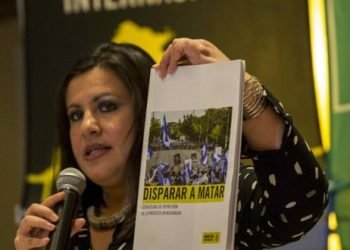 Amnistía Internacional: Representante de Ortega usa nuestros informes para criticar otros países, pero convenientemente los tilda de injerencia cuando se trata de Nicaragua. Foto: EFE.