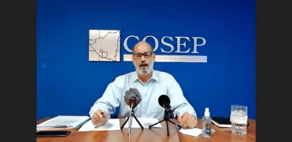 Michael Healy, presidente del Cosep en conferencia virtual